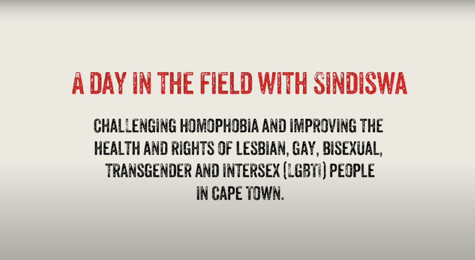 A day in the field with Sindiswa