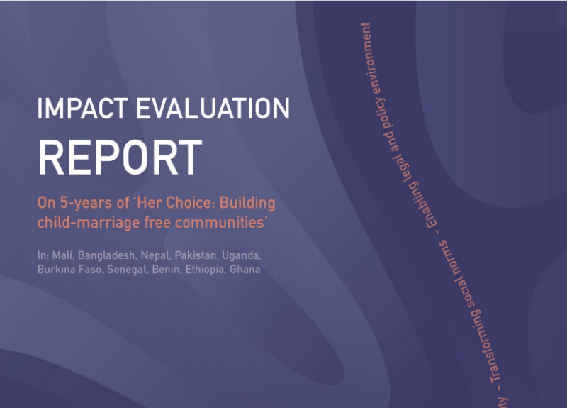 Her Choice – Impact Evaluation Report 2021