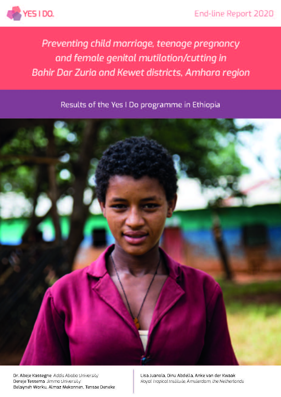 Preventing child marriage, teenage pregnancy and female genital mutilation/cutting in Bahir Dar Zuria and Kewet districts, Amhara region Publication