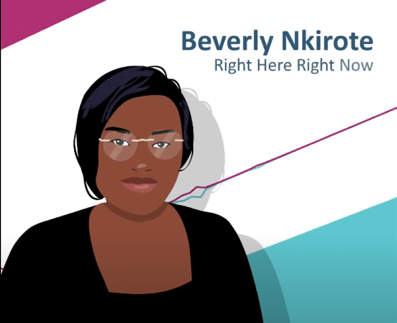 Beverly Nkirote – Right Here Right Now